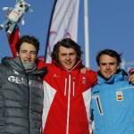 Podio de los Juegos de la Juventud de Lausana 2020 con Álvaro Romero en 3a posición