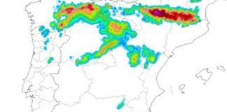 Los gruesos de nieve serán importantes en todo el tercio norte