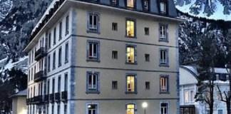 El Gran Hotel, edificio emblemático del Balneario de Panticosa.