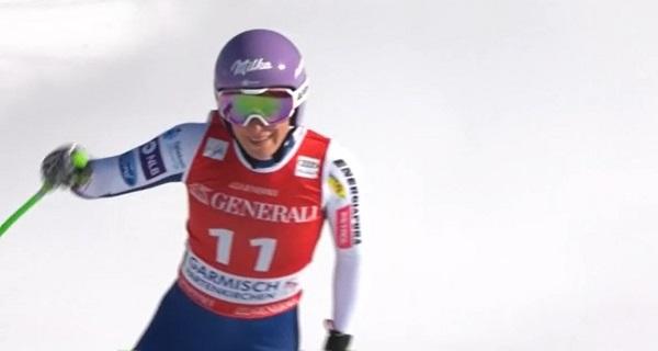 Poco a poco Ilka Stuhec va cogiendo confianza y ritmo de competición.