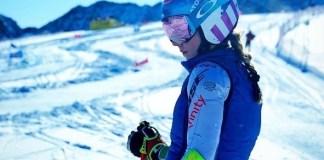 Mikaela Shiffrin ha vuelto a entrenar y podría reaparecer el 7 de marzo.