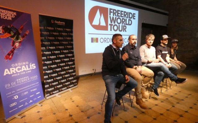 Acto de presentación en Barcelona