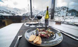 Los restaurantes de altitud prometen mucho glamour