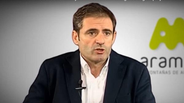 Antonio Gericó, director general de Aramón, ha recibido una llamada de Felipe VI expresándole su apoyo al turismo de montaña. FOTO: Youtube