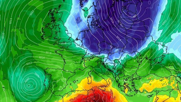 La zona norte volverá por unos días al invierno