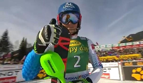 Petra Vlhova es, junto a Mikaela Shiffrin, la gran dominadora en el slalom femenino.
