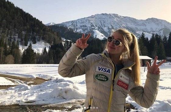 Ainsley Proffit cumplirá su tercer invierno en el equipo de desarrollo del equipo de EE.UU. FOTO: Instagram A.P.