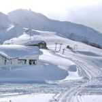 Una imagen tras la última nevada en Cerro Bayo, Argentina