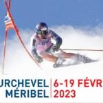 El Mundial de Courchevel-Méribel 2023 prepara un trazado de descenso espectacular y muy exigente.