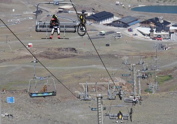 Este verano el turismo en Sierra Nevada ha sido casi exclusivamente nacional, con un 90% de presencia de andaluces.