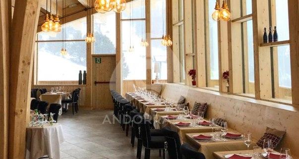 El restaurante del Coll de la botella sgue abierto los fines de semana