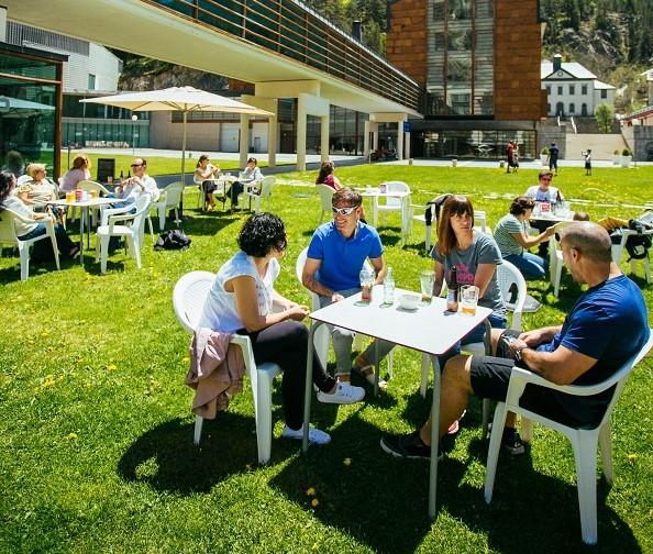 Turismo nacional, y mayoritariamente aragonés, han confirmado el perfil de la clientela de este verano en el Balneario.