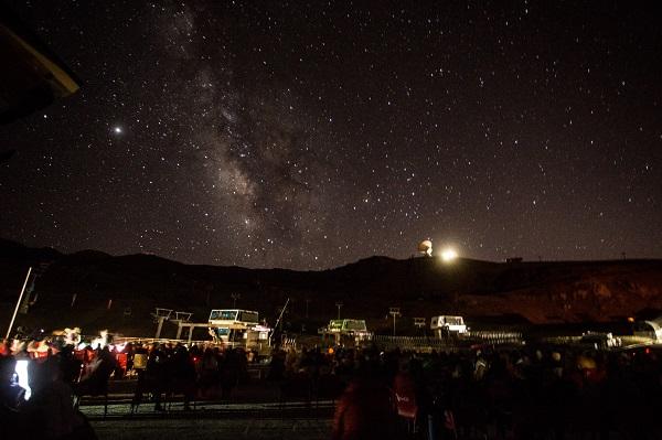 La lluvia de estrellas en Sierra Nevada, un espectáculo natural e inolvidable.
