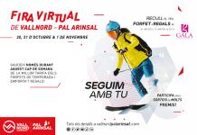 La feria virtual de Vallnord-Pal Arinsal, del 30 de octubre al 1 de noviembre.