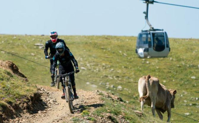 El Bikepark de La Molina es un destino 100% MTB