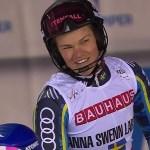 Anna Swenn-Larsson estará en el paralelo de Lech-Zürs del jueves tras haberse perdido los dos slaloms de Levi.