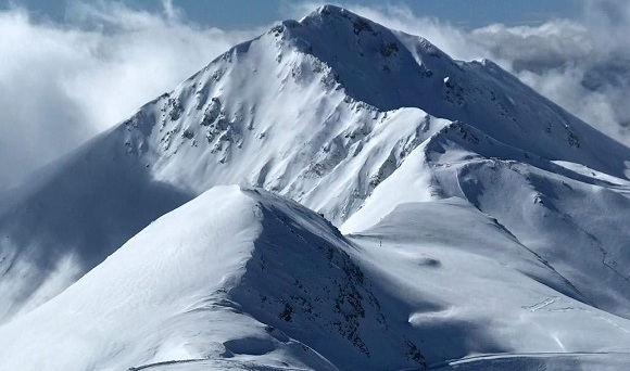 Boí Taüll a vista de pájaro desde el Puig Falcó, 2751 metros de altitud