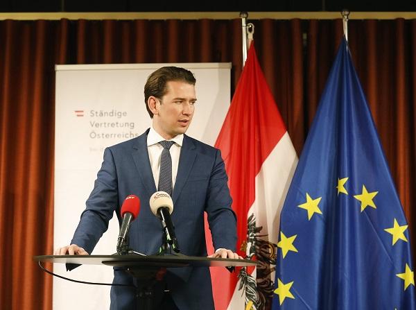 Sebastian Kurz, canciller austriaco. FOTO: Twitter