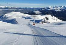 Las pistas están completamente pisadas tras la nevada del fin de semana
