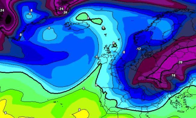 Los modelos intuyen entradas frías este invierno