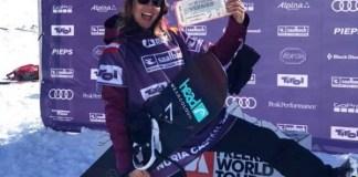 Nuria Castán es la única rider española en el Freeride World Tour.
