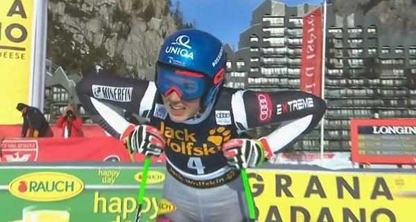 Petra Vlhova no ha puntuado pero mantiene el liderato de la Copa del Mundo.