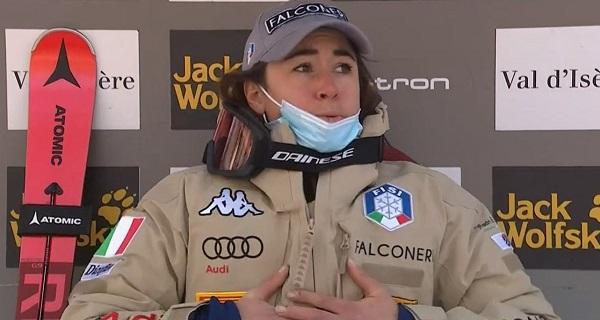 Primera victoria de la temporada de Sofia Goggia en el segundo descenso de Val d'Isère.
