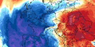 El frío polar irrumpe en la Península