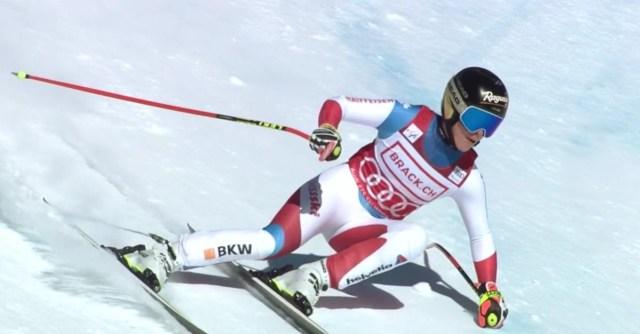 Lara Gut está volviendo a rayar al nivel que exhibió antes de la grave lesión que sufrió.