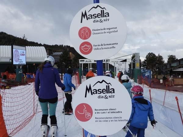 Masella es la estación privada de Catalunya que menos ha trabajado durante las fiestas.