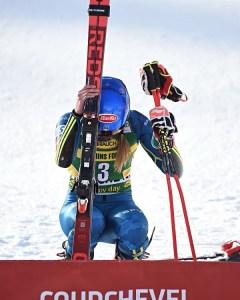 Shiffrin volvió a ganar en Courchevel después de la trágica desaparición de su padre el pasado febrero. FOTO: Twitter MS