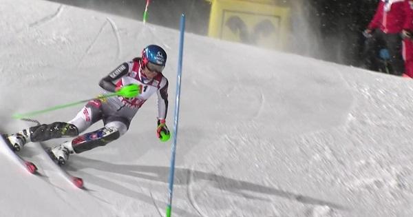 El esquí de fuerza de Vlhova no le ha servido para hacerse con la victoria.