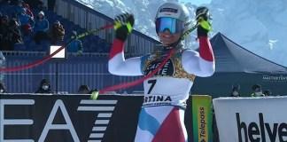 Corinne Suter, nueva campeona del mundo de descenso.