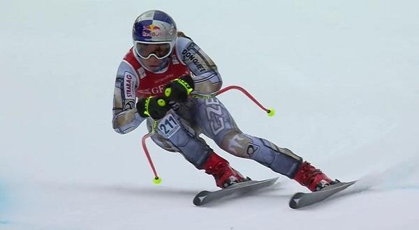 Hoy cuarta tras su primer podio el sábado, Kajsa Vickhoff Lie sigue creciendo.