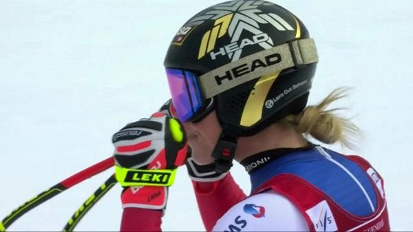 Lara Gut se ha mostrado intratable en Garmisch ganando los dos super G.