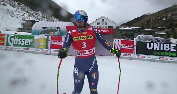 Dominik Paris ha sido el más rápido de los nueve que han tomado la salida.