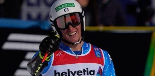 Giovanni Franzoni, campeón del mundo junior de super G y subcampeón de gigante. FOTO: Facebook FISI