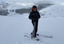 Juan Ramón Moreno es un amante del esquí