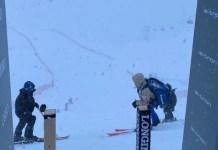 La cancelación de los descensos de Lenzerheide otorga los Globos de la especialidad a Beat Feuz y Sofia Goggia. FOTO: @swisskiteam