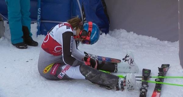 Mezcla de sensaciones para Petra Vlhova, que ha ganado el Gran Globo pero ha perdido el de slalom tras liderarlo toda la temporada.
