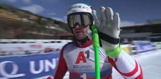 Vincent Kriechmayr ha demostrado por qué es el campeón del mundo con su victoria en el descenso de Saalbach.