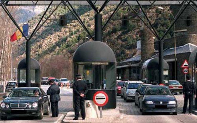 Tanto españoles como andorranos pueden desplazarse por ambos lados de la frontera