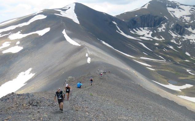 Una imagen de la Gran Maratón Montañas de Benasque de la pasada edición