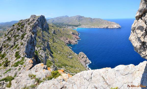 Una imagen de la zona de Cavall Fort, Pollença (Mallorca)