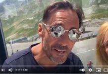 Leyenda de la MTB, no ha querido perderse la llegada del Tour de France a Andorra