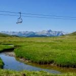 Las estaciones de esquí ofrecen en verano una amplia gama de actividades.