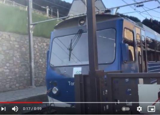 El único medio de transporte para llegar a la Vall de Núria es con el tren cremallera