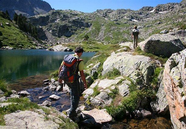 El Llac de Dalt de Saboredo, en el recorrido de la Ruta dels Encantats. FOTO: Ara Lleida