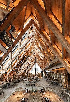 Interior del nuevo edificio de l'Abarset