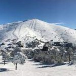 Una imagen del centro invernal